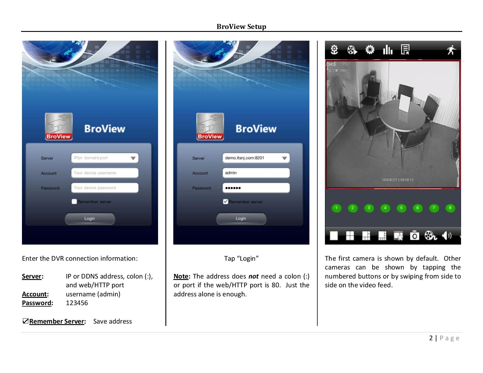 Broview App Installation And Setup